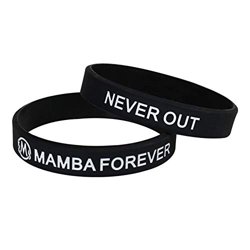 Zdy 5 Stks Siliconen Armband Mamba Slang Armband MAMBA FOREVER NOOIT Uit Basketbal Armband Siliconen Sport Fan Sieraden