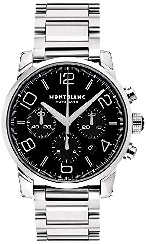 Montblanc Timewalker Men's 43mm Chronograph Automatic Sapphire Glass Watch 9668