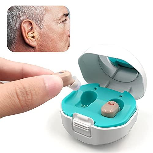 Moniteurs de santé domestique, Aides auditives numériques Aide auditive numérique rechargeable avec l amplificateur d audition de périphérique d audience de cas de charge for personnes âgées (oreille