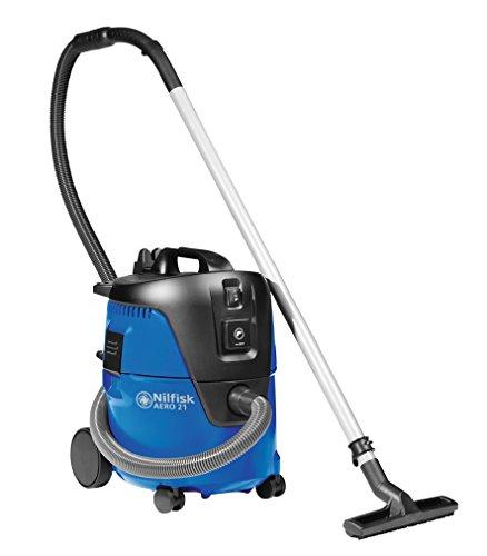 Nilfisk 107406601 - Aspiradora de trineo, 1250 W, color negro y azul