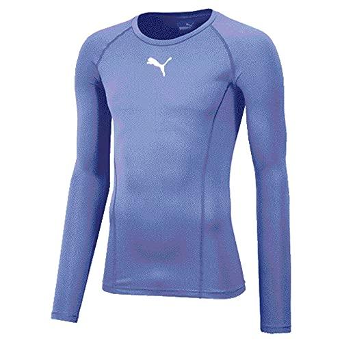 Puma Liga Baselayer T- T-Shirt Homme Bleu (Silver Lake Blue) 56/58
