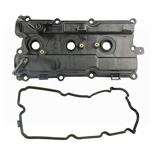 MOSTPLUS Rear RH Engine Valve Cover w/Gasket Compatible with Nissan 3.5L VQ35DE 264-985 264-984