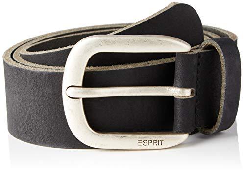 Esprit 990ea1s304 Cinturón, 001/Negro, 80 para Mujer