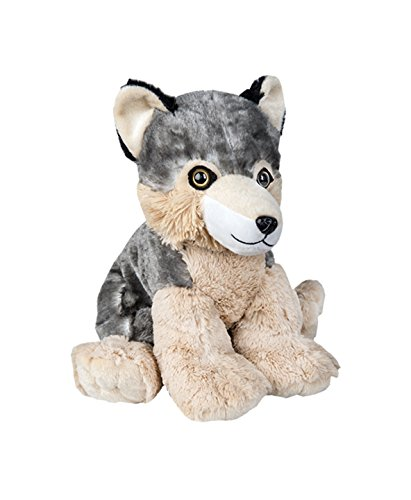 Recordable 16' Plush ('Timber' the Gray Wolf) for Voice Messages, Songs or Baby Heartbeat - a BFF (Beary Fun Friend)