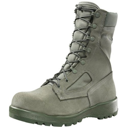 B Belleville Arm Your Feet Women's F600 ST Hot Weather Steel Toe Boot, Sage - 9.5 R