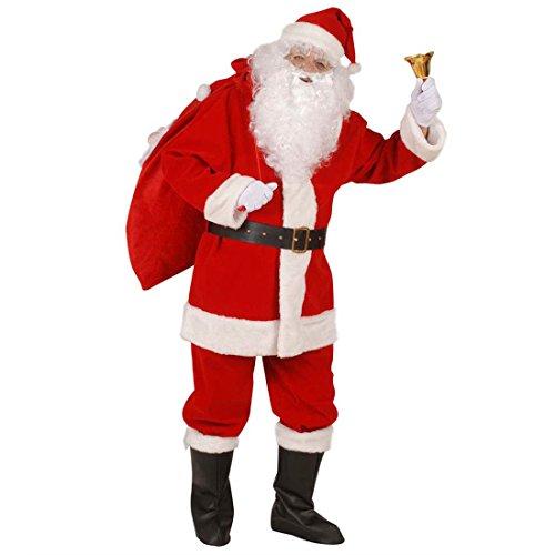 NET TOYS Costume Elegante da Babbo Natale Travestimento da Santa Claus - Uomo: X-Large