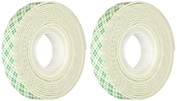 3M Scotch Mounting Tape .5-Inch by 75-Inch 2-PACK