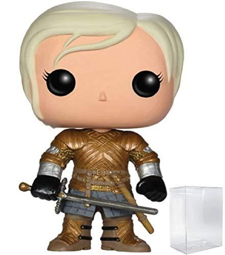 Game of Thrones: Brienne of Tarth Funko Pop! Vinyl Figure (Includes Compatible Pop Box Protector Case)