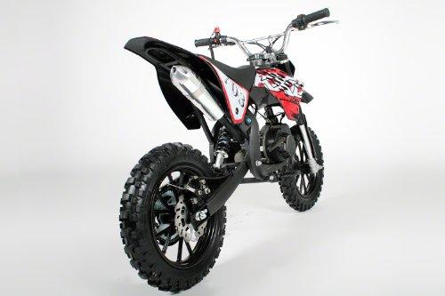 "Dirtbike Croxx 10"" Crossbike Pocket Minicross Motorcross Schwarz"