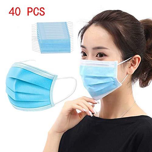 HS-HWH316 wegwerpstofbescherming, anti-woven 3-laags filter, professionele geneeskunde, stof en pollen allergie, vacuüm verpakking, hoofdbescherming