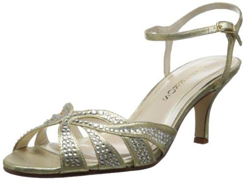 Caparros Women's Heirloom Dress Sandal,Gold,8 M US