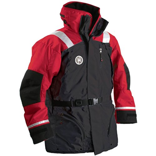Sale!! 1 - First Watch AC-1100 Flotation Coat - Red/Black - XX-Large
