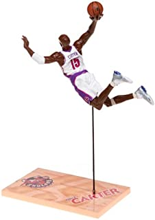 McFarlane Toys NBA Sports Picks Series 1 Action Figure Vince Carter (Toronto Raptors) White Jersey