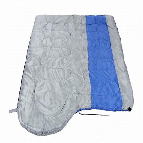 FKB@ED Saco de dormir al aire libre para adultos, 3-4 Temporada sacos de dormir para acampar, sacos de dormir empalmados ligeros calientes con saco de compresión Equipo ideal para ca
