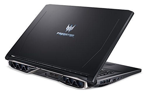 Product Image 1: Acer Predator Helios 500 PH517-51-72NU Gaming Laptop, Intel Core i7-8750H, GeForce GTX 1070 Overclockable Graphics, 17.3″ Full HD 144Hz G-Sync Display, 16GB DDR4, 256GB PCIe NVMe SSD, 1TB HDD