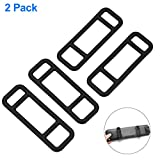 Mirror Dash Cam Mounting Straps Suitable for TOGUARD, AKASO,VICTONY, AUTO-VOX M3, SENDOW Mirror Dash Cam and Most Other Car DVR (2 Pack)