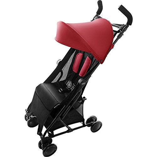 Britax Römer Buggy 6 Monate - 3 Jahre I bis 15 kg I HOLIDAY I Flame Red