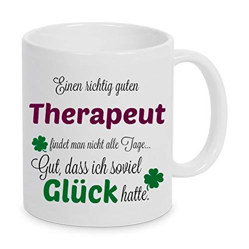 TassenKing(TM) - Einen guten Therapeut. - Tasse - Kaffeebecher - Tasse mit Spruch