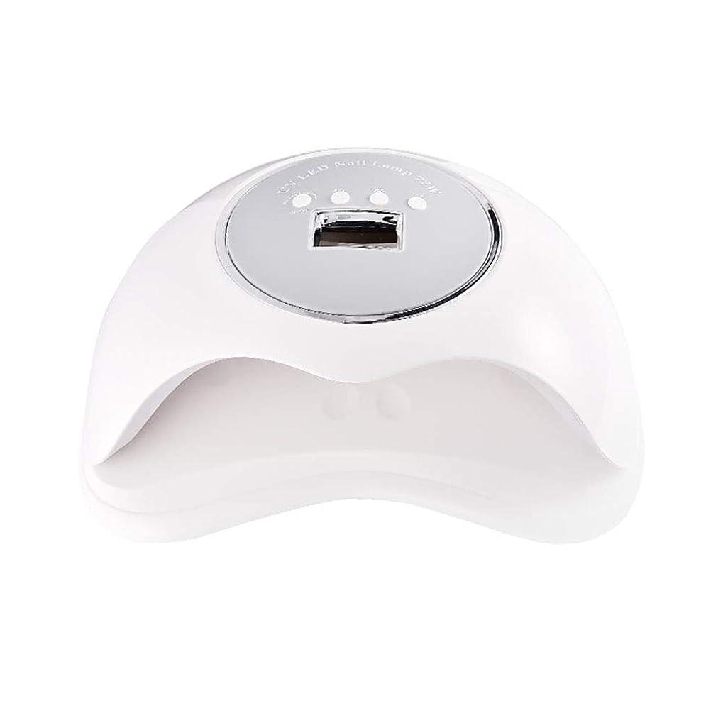 丈夫合金ダイアクリティカル釘のドライヤー - 自動赤外線センサー、二重光源のLEDランプのゲルのドライヤーのマニキュアが付いている紫外線携帯用LEDの釘ランプ