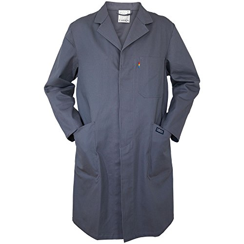 Carson Classic Workwear KTH741.GR Carson Arbeitsmantel aus reiner Baumwolle, Grau, 54