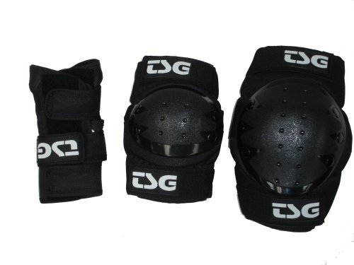 TSG Pad Pack 3-teilig M Schwarz
