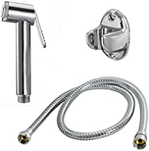 Unique Creation Health Faucet Premium Range Parry with One Meter Stainless Steel Tube & Hook || Bathroom Accessories || Hand Faucet || Hand Shower || Bathroom Faucet ||