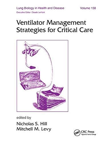 Ventilator Management Strategies for Critical Care