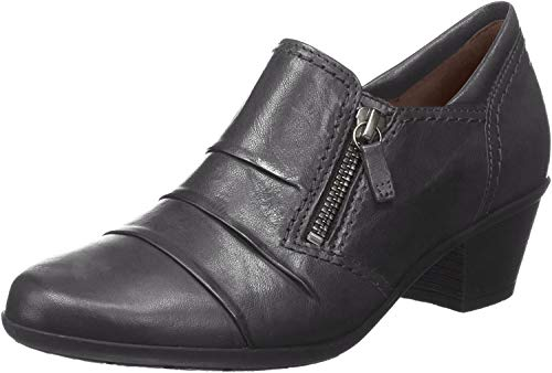 Gabor Sherbert Womens High Cut Zip Fastening Shoes 38.5 Schwarz