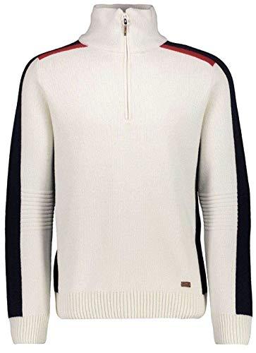 CMP Man Knitted Pullover - Herren Pullover Windstopper Norweger Style - 7H87804 A143 in der Größe 56