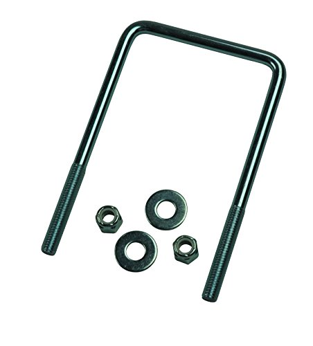 """CE Smith 15260A Bracket U-Bolt; 3/8"""" x 3-1/2"""" x 6"""" General Use Square U-Bolt- Replacement Parts and Accessories for Your Ski Boat, Fishing Boat or Sailboat Trailer"""