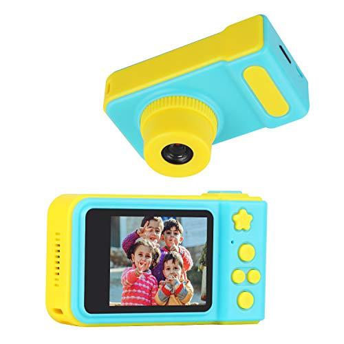 Eocean Cámara niños, Minicámara Digital para niños, 2.0 Pulgadas Video Kids Camera con 16G Tarjetas Cámaras Digitales Mini Videocámara Infantil, Regalos de Cumpleaños y Navidad para Niños y Niñas