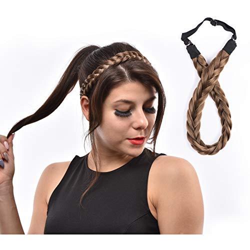 (29% OFF) Hair Braided Headband $6.39 Deal