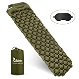 Relefree Camping Mat Sleeping Mat with Pillow Ultralight Folding Camping Air Mattress