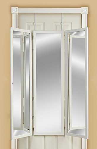 Over the Door Folding Dressing Mirror