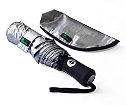 professional Umenice UPF 50+ UV Protection Umbrella Ultra Light (Black)