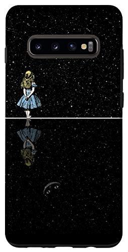 Galaxy S10+ Alice In Wonderland Starry Night Case