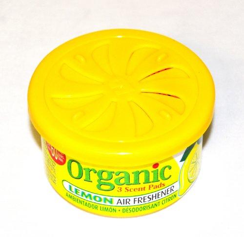 Organic Can Autoduft die Duftdose fürs Auto in Lemon - Zitrone