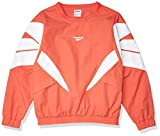 Reebok Large Logo Woven Crew Jacket Chaqueta, Rosetón, XXS para Mujer