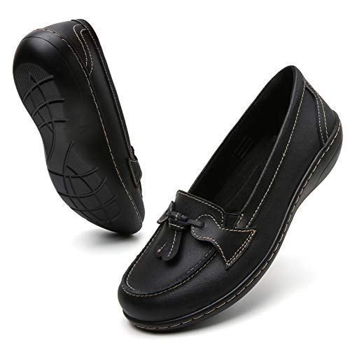 Top 10 best selling list for womens leather sole flat shoes