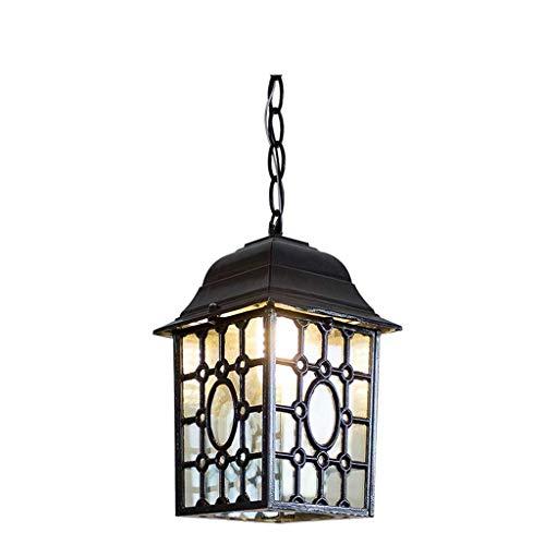 LHQ-HQ Luces colgantes, Lámpara impermeable al aire libre, Luces de jardín Pabellón Candelabro, Balcón Pasillo Luces Corredor Lámparas Basement Candelabros, Personalidad creativa Sala de estar Luz