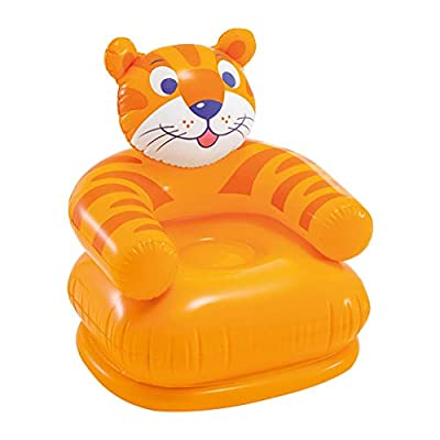 Nesee Cartoon Creative Household Children Animal Inflatable Sofa Seat Portable,Water Proof& Anti-Air Leaking Design-Ideal Couch for Backyard Lakeside Beach Traveling Camping Picnics