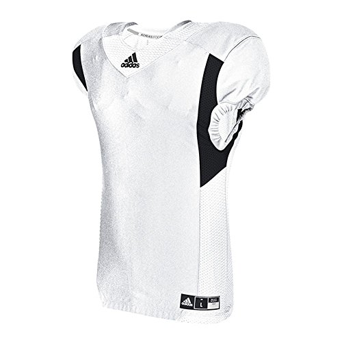 adidas Techfit Hyped Football Jersey Camiseta, Blanco/Negro, L para Hombre