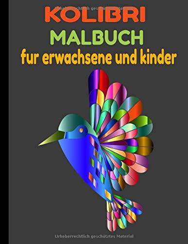 KOLIBRI MALBUCH: BEAUTIFUL BI FÜR ANTI-STRESS COLIBRIS DESIGNS,KOLIBRI MALBUCH, 50 DESIGNS