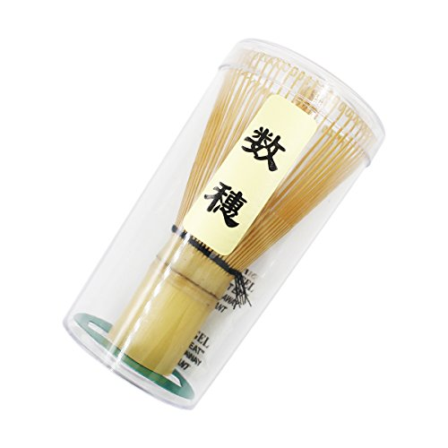 Ulable. Herramienta de bambu chasen para batir te matcha en polvo, accesorio para la ceremonia del te japonesa, 60-70/70-75/75-80 varillas, bambu, 60-70 prongs