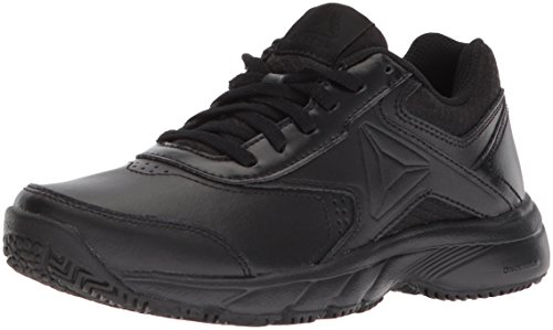 Reebok Women's Work N Cushion 3.0 Walking Shoe, Black, 8.5 M US
