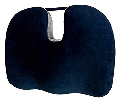 TENDER CARE Coccyx, Tailbone, Sciatica, Lower Back Support and Pain Relief Seat Cushion with Removable Cover Fits Most Desk, Computer Chairs and Car Seats