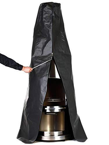 Buschbeck Abdeckhaube für Edelstahlgrill Sydney, schwarz, B/H/T: ca. 76x260x76 cm