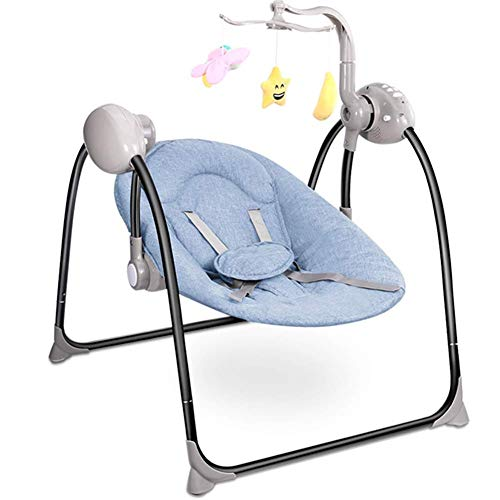 Lowest Prices! KJRJYY Baby Rocking Chair,Portable Swing,Multifunctional Chair Folding Swing,Remote, ...
