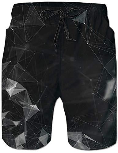 Rave on Friday Pantalones Cortos Playa Hombre 3D Impreso Verano Bañadores Secado Rápido Pantalon Corto de Deportivos S-XXL