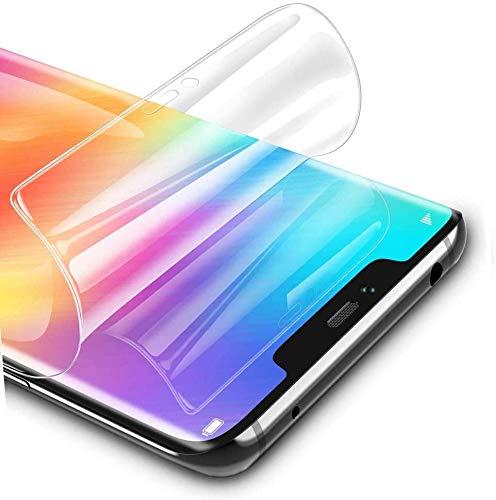 Iiseon Ad Alta sensibilità Pellicola in idrogel Protettiva per Xiaomi Mi 9T / Mi 9T PRO, 2 Pezzi Trasparente Morbido TPU Protezioni per Lo Schermo [Copertura Completa] (Non Vetro Temperato)